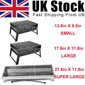 Large travel Camping Portable Charcoal BBQ Grill Outdoor Patio Garden small mini