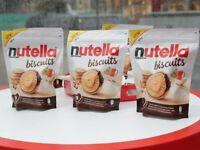 9x NUTELLA BISCUITS BISCOTTI - FERRERO