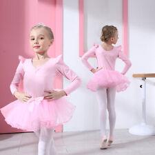 Leotard Ballet Dress Gymnastics Costumes Kids Girls Toddlers Ballerina