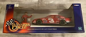 Dale Earnhardt Sr. #3 Coca Cola 1:24 Winners Circle Die Cast w/Figurine New