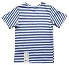 Boys' Striped 100% Cotton Short Sleeve Sleeve T-Shirts, Tops & Shirts (2-16 Years)