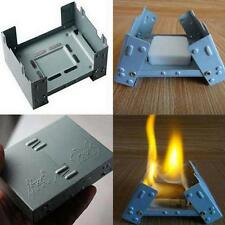 Solid Alcohol Fuel outdoor army Camp Camping Folding Portable Pocket Stove XT