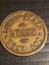 More details for welsh pub token bear inn neath high grade (united kingdom)
