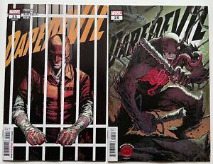 Daredevil #25 Cover A & B Knullified SET | 1st Elektra Daredevil | NM | 2020