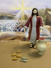 HTF Accoutrements DELUXE miracle JESUS Action Figure Bread Fish LOOSE