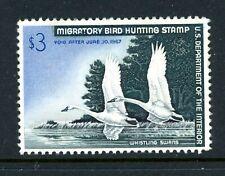 US Duck Scott # RW33 - MH - CV=$100.00