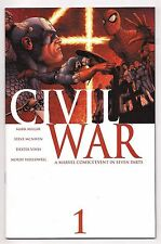 ORIGINAL 2006 MARVEL CIVIL WAR COMPLETE SET #1, 2, 3, 4, 5, 6, 7 NM HIGH GRADE