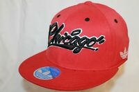 "Chicago Bulls Hat Cap ""The CHI Script Flexfit Cap"" By Adidas NBA Hats"
