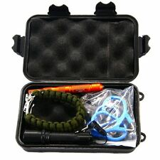 Outdoor Sport Camping Hiking Survival Emergency Tool Box Kit Set SP028
