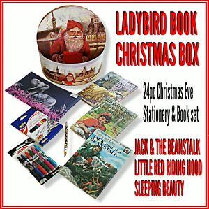Ladybird Book x 3 Red Riding Hood Jack & Beanstalk Sleeping beauty  XMAS GIFTBOX