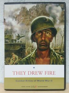They Drew Fire DVD Combat Artists of World War 2 - 1999 WAR DOCUMENTARY RARE OOP