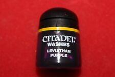 Games Workshop Citadel Washes laver Léviathan Violet Entièrement neuf dans sa boîte nouvelle encre peinture 12 ML Épuisé