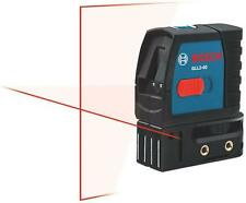 NEW BOSCH GLL2-15/40 CROSS LINE LASER LEVEL SELF LEVELING TOOL 1.5 VOLT 6255319