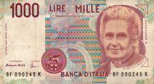 BANCONOTA REPUBBLICA ITALIANA DA 1000 LIRE Fazio-Amici 32-77
