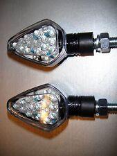 4 x LED INDICATORE DI DIREZIONE Lampada CARBONIO BMW G450C,K100RS 4V,R100GS,R100