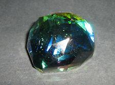 Mezza Sfera Cristallo Peacock GLASS CRYSTAL COLOUR ORNAMENT 109202-40