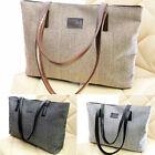 Fashion Women Lady Canvas Handbag Shoulder Tote Messenger Bag Big Capacity