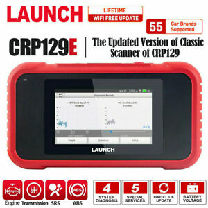 LAUNCH X431 CRP129E OBD2 Scanner Engine ABS SRS AT TPMS EPB Car Diagnostic Tool