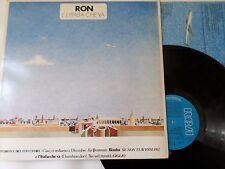 RON - E L'Italia Che Va - LP / 33 giri 1986 1st Press RCA