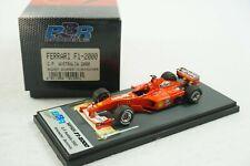 1/43 BBR FERRARI F1-2000 GP AUSTRALIA M.SHUMACHER WINNER BG203 MR