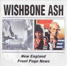 WISHBONE ASH - NEW ENGLAND/FRONT PAGE NEWS NEW CD