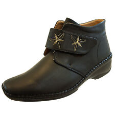 Velcro Wedge Ankle Boots for Women