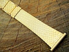 Rowi Vintage Watch Band Stainless Steel 22mm Butterfly Clasp Unused NOS Bracelet