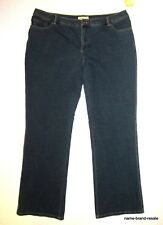 COLDWATER CREEK NWT $74 Knit Bootcut JEANS Womens PLUS 18W 18 Comfy Boot Cut NEW