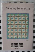 """Patch Works Studio """"Stepping Stone Plaid"""" Quilt Pattern #Ps-143"""