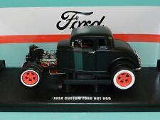 Greenlight Coll. 1/18 1932 Custom Ford Hot Rod Black MiB