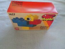 1993 LEGO DUPLO - PRE SCHOOL BUILDING SET - NIB - #1657 - 6 PIECE SET