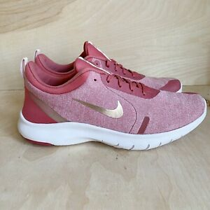 NEW Nike Flex Experience RN 8 Women's Running Shoes Sneakers Size 8.5 Pink Gold