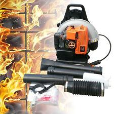 110cc Backpack Electric Leaf Blower Vacuum 2 Stroke 2,7 Kw Power Equipment