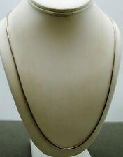 "STERLING SILVER 24.5""  SNAKE CHAIN NECKLACE  #FMH563"