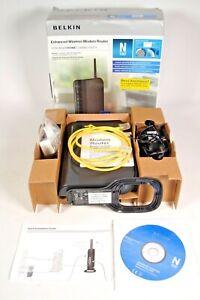 Belkin Enhanced N150 Wireless Cable Modem Router - Model F6D4230 UK /4A