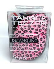 TANGLE TEEZER Compact Styler Brush Limited Edition Pink Leopard