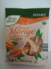 Simply Nature Non GMO Dried Mango 4 oz