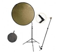 Walimex Reflektorhalter-set Silber/gold Ø 100cm By Mediaresort