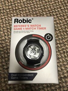 Robic referee's timer watch game and match timer