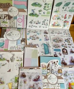 Hot Diggity Dog - Card Kits, Paper Pack, Stamps, Decoupage, Die Cuts & Greetings