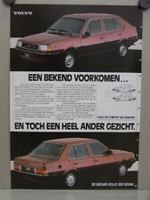 Advertising NL weekblad 1984 / ca.A4 / Volvo 340 - 360  (psv-02848)