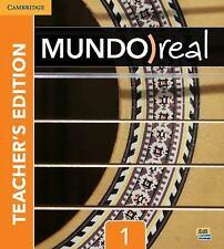 Mundo Real Level 1 Student book NEW!