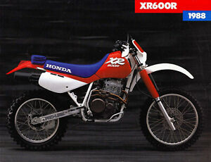 HONDA XR600 1988 to 2000 (other models, years) backgrounds decals