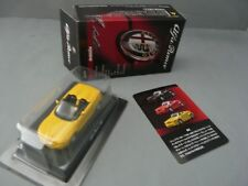 1/64-KYOSHO-ALFA ROMEO MINICAR COLLECTION 2-RZ ZAGATO ROADSTER-YELLOW-NEW/MOC