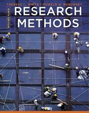 Research Methods by Theresa L. White, Donald H. McBurney