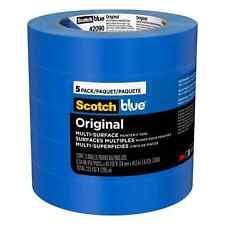 "ScotchBlue Original Multi-Surface Painter's Tape 2090 0.94"" x 45 yard 5 Pack NEW"