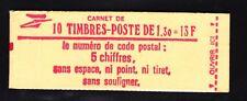 FRANCE CARNET 2059-C2 ** MNH carnet fermé, conf. N° 7, cote: 13  €