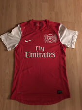 ARSENAL LONDON NIKE 2011/12 Player Issue Home Shirt Size Medium