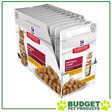Science Diet Chicken Adult Cat Wet Pouch 85g X12