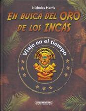 En Busca del Oro de Los Incas (Time Detectives) (Spanish Edition)-ExLibrary